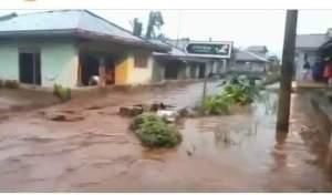 Hujan Deras di wilayah kecamatan Sirampog sebabkan beberapa bencana alam