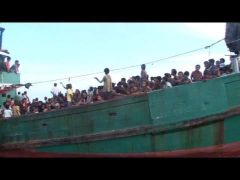 """Migrants affamés refoulés en Asie: l'ONU """"consternée"""""""