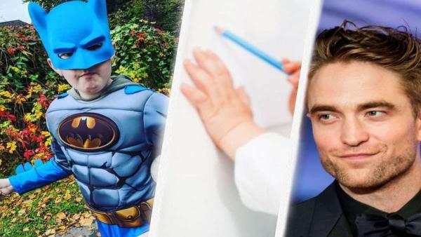 Мальчик мечтал увидеть Бэтмена и придумал способ. Сердце Роберта Паттинсона растаяло при виде его рисунка