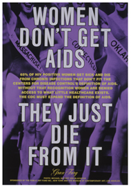 Women Don't Get AIDS; They Just Die from it