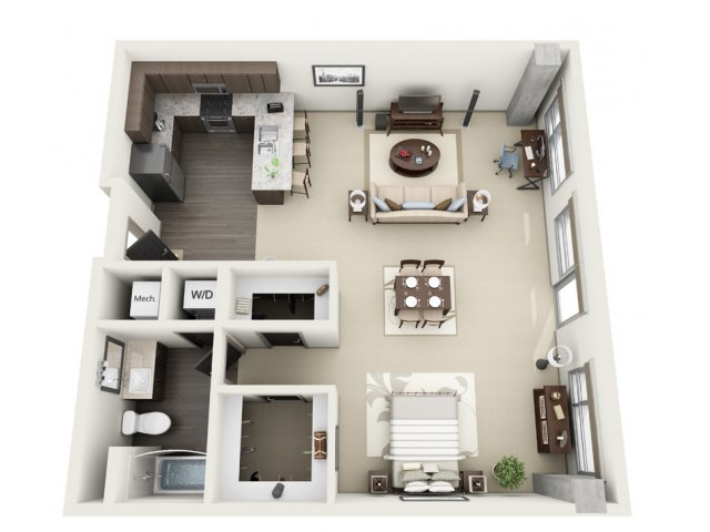 2 Bedroom Apartments For Wonderful