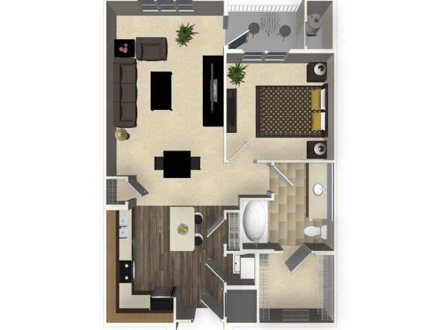 1 bed / 1 bath apartment in san jose ca | venue apartments