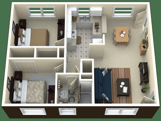 1 3 Bed Apartments Check Availability Arlington