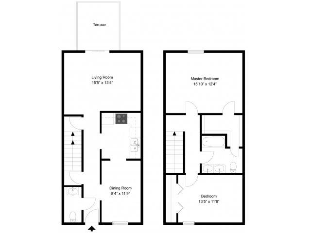 2 Bed / 1.5 Bath Apartment In Grand Rapids MI