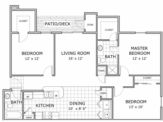 All Our Floor Plans3 Bedroom Ph 1