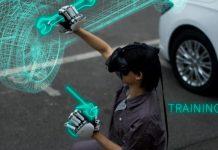 Dexmo Virtual Reality Handschuh