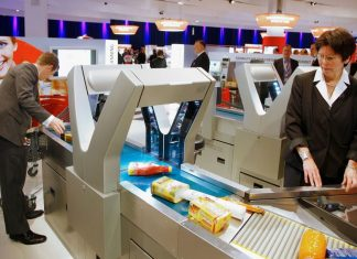 Self-Check-Out Automatic Scanning