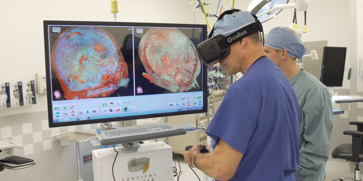 Technology Management Image: VR Healthcare: Virtual Reality In Medicine