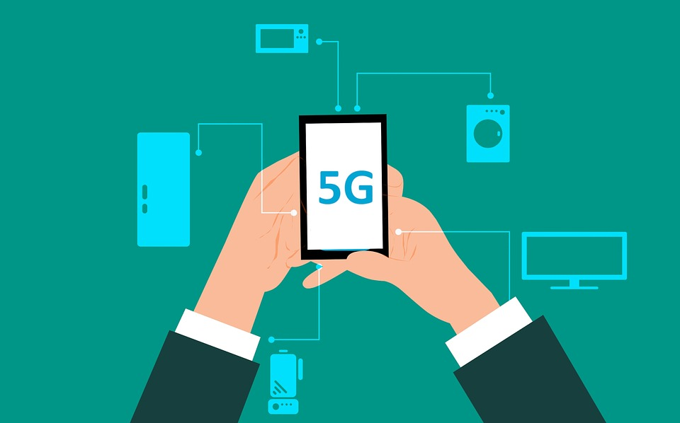 5G Telefon von Sprint und LG