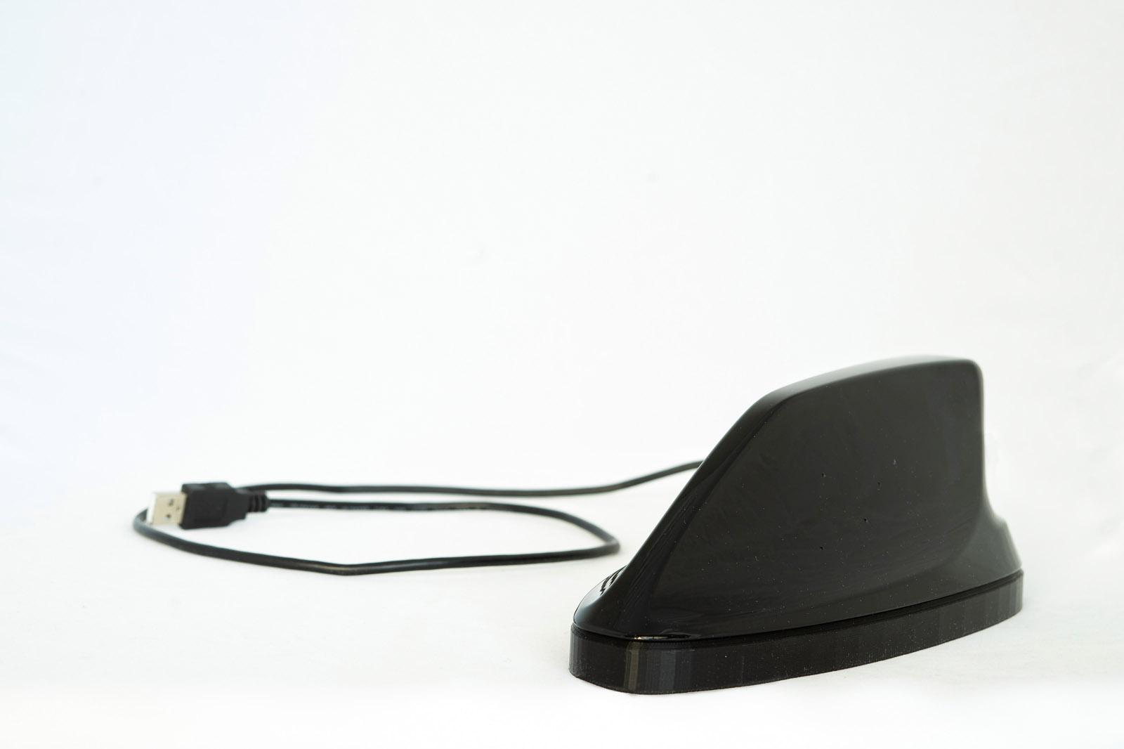 Fraunhofer-Institut entwickelt hörendes Auto - die modifzierte Dachfinne