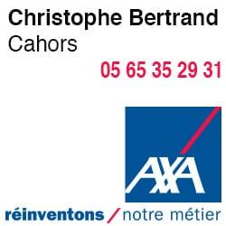 Assurance Axa Cahors Christophe Bertrand