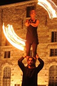 Copyright PAHVDL - visite flambeaux et cirque