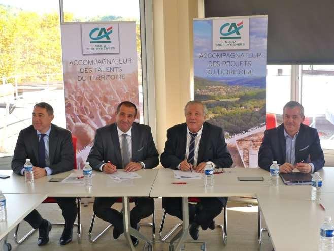 Partenariat renouvel entre la chambre de m tiers et le cr dit agricole medialot - Chambre des metiers du nord ...