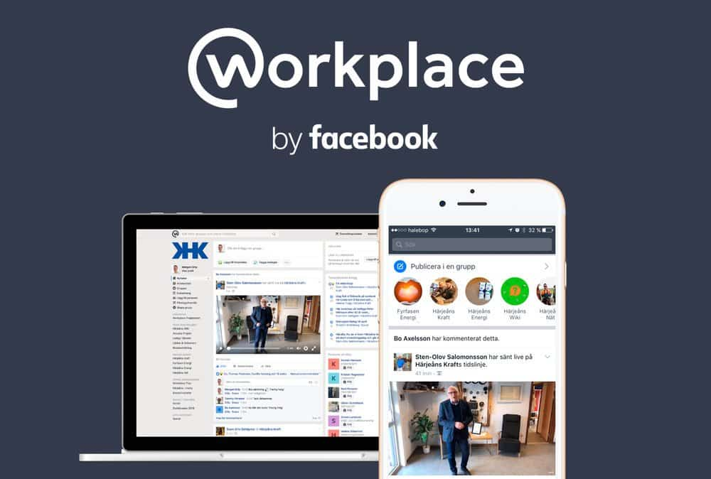 Intranätet skall vara socialt och det skall vara enkelt! Workplace by Facebook är just det. Vi berättar gärna mer om hur vi kan hjälpa er med. Kontakta Morgan, telefon 070-215 03 15 eller morgangrip@icloud.com