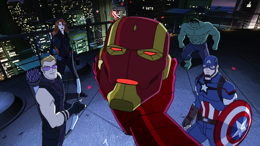 Avengers cartoons: MARVEL'S AVENGERS: ULTRON REVOLUTION