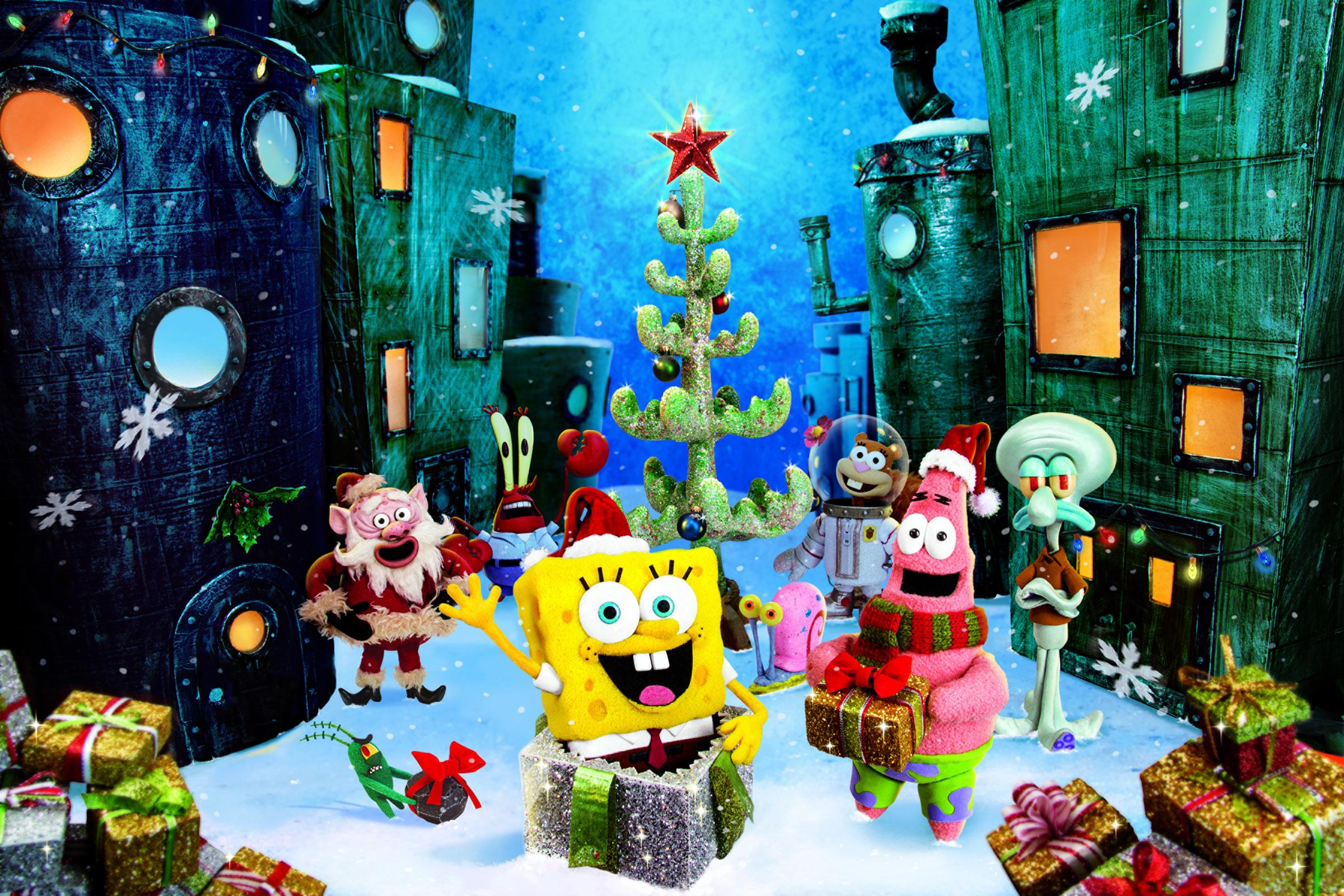 Its A SpongeBob Christmas Review