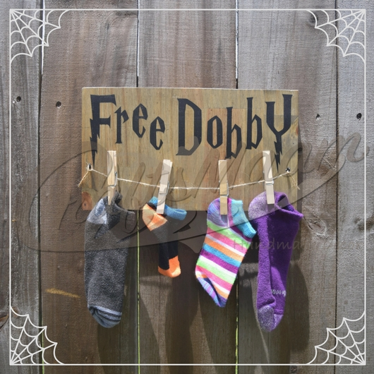 Free Dobby Sign