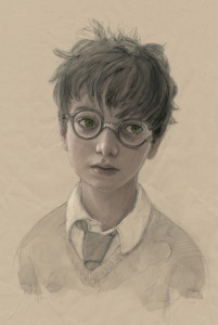 Harry Potter (Credit: Jim Kay © 2014 by Bloomsbury Publishing Plc.)