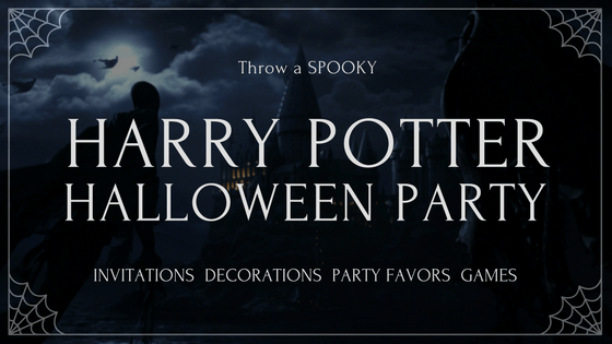 Harry Potter Halloween Party Blog