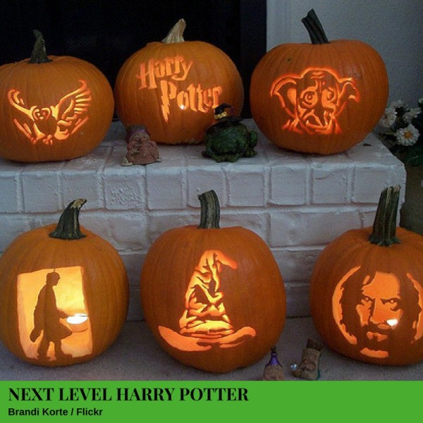 Next Level Harry Potter Jack-O'-Lantern