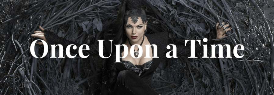 Once Upon a Time Header with Regina