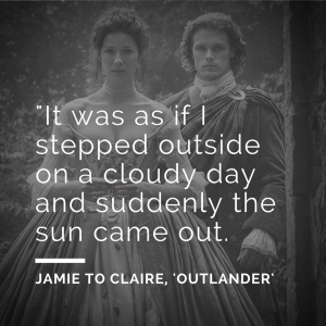 Share an Outlander quote