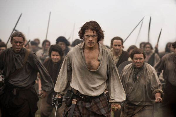 Sam Heughan (as Jamie Fraser)