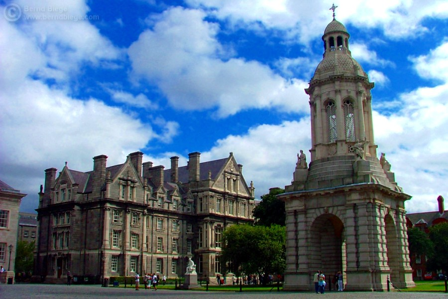 Trinity College in Dublin as Unseen University?