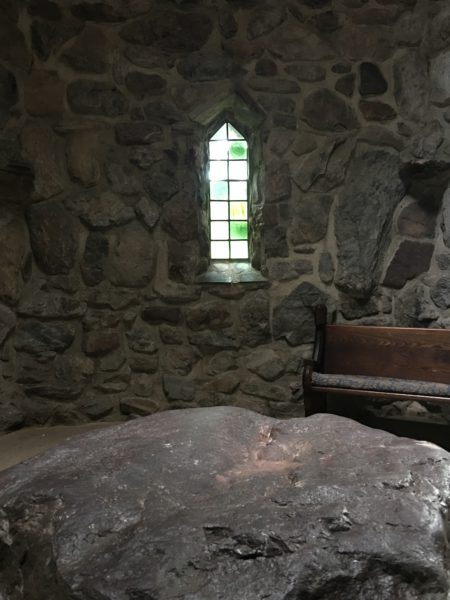 Interior of St. Columbas Chapel CR: Nancy Basile