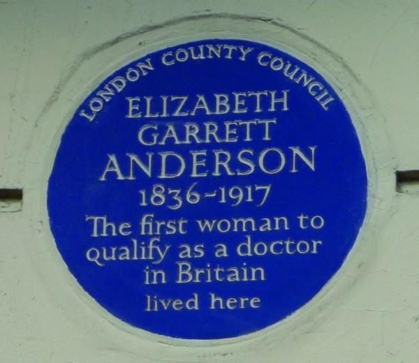 Elizabeth Garrett Anderson Blue Plaque