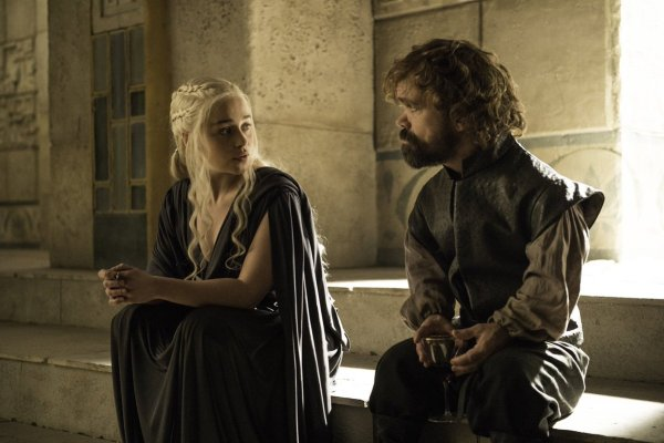 Game of Thrones Daenerys and Tyrion