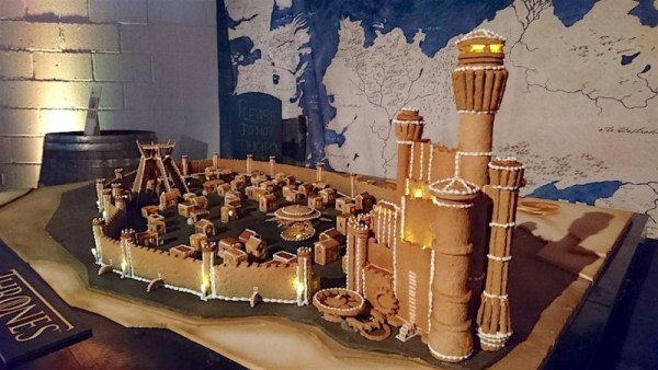 Gingerbread Game of Thrones