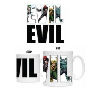 Marvel Villains Heat Changing Mug