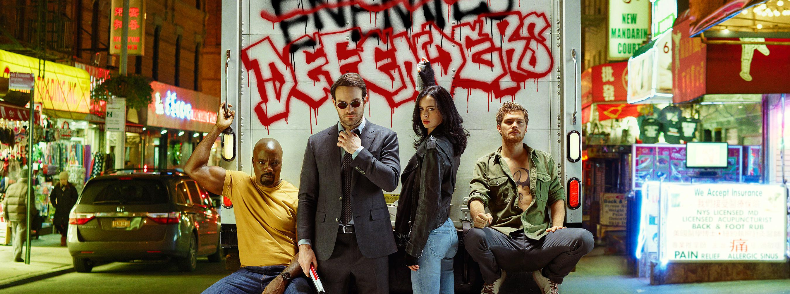 'The Defenders' Dinner Menu Is All About The Hand