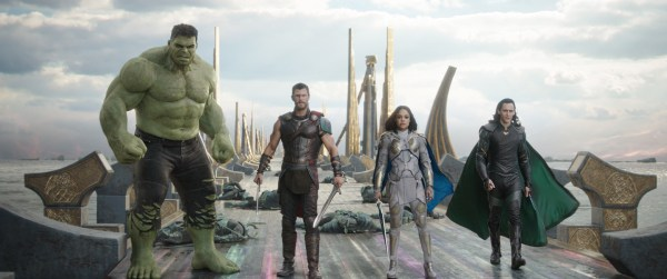 Thor Ragnarok Bifrost Bridge Group