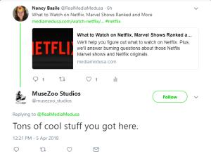 Media Medusa and Netflix Help