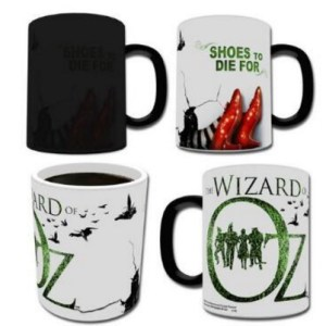 Wizard of Oz Shoes Heat Changing Mug