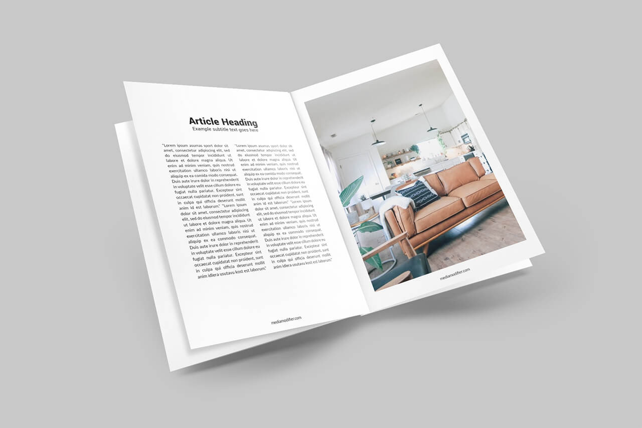 A bundle is an assembled set of scene and item mockups. 30 Best Magazine Mockups Mediamodifier