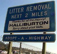 halliburton's suspicious dubai move
