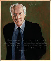 lewis lapham of harper's magazine on 9/11