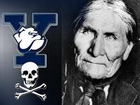 did bush's grandfather steal geronimo's skull?