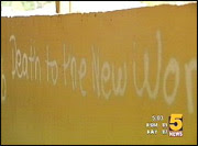 graffiti calls attention to 9/11