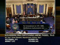 lieberman-kyl's iran amendment passes
