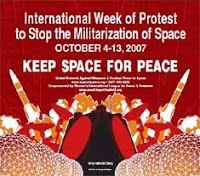 Keep Space for Peace Week