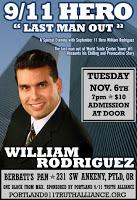 9/11 hero william rodriguez in portland tonight