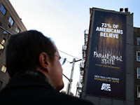 billboard blasts passers-by with audio advertisement
