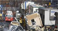 7 ton load falls near ground zero