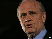 and then there were five: fred thompson drops out