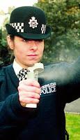 uk police use cs gas to break up schoolgirl fight