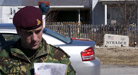 british troops overrun town for training exercise